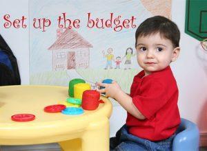 Set up the Budget: