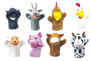 animal puppet friends